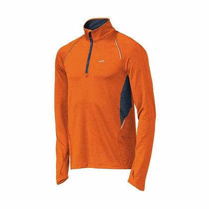 Brooks Nightlife Infiniti 1/2 zip Shirt Long Sleeves (Heren