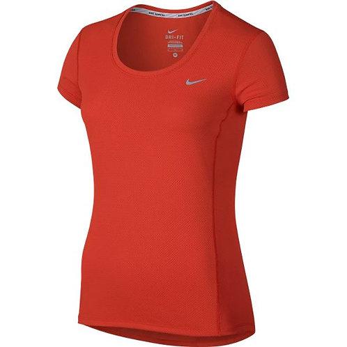 Nike Dri-fit Contour Short-Sleeve (Dames)