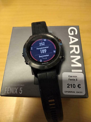 inruil - Garmin Fenix 5 (GPSinruil nr 104151)