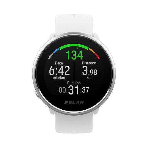 Polar Ignite Fitnesshorloge met GPS Wit/Zilver (Medium/Large)