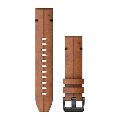 Garmin 22 Quickfit Leren Horlogeband