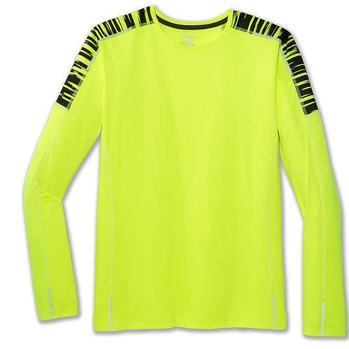 Brooks Nightlife Shirt Long Sleeves (Heren