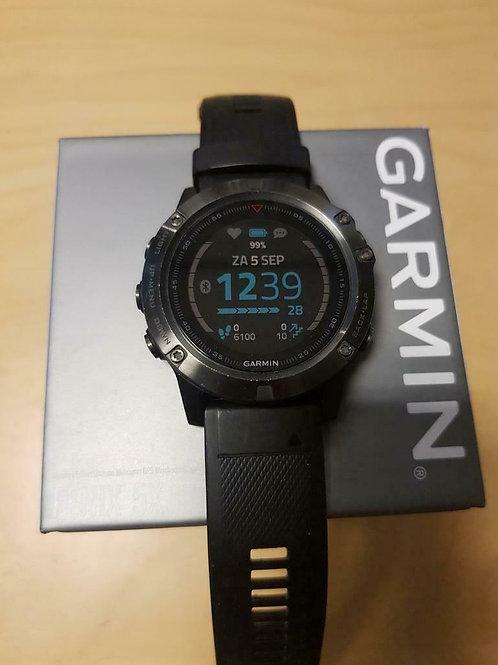 inruil - Garmin Fenix 5X Sapphire (GPSinruil nr 9051)