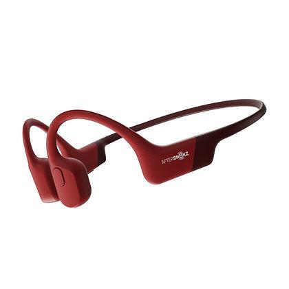 Aftershokz® Aeropex Draadloze Hoofdtelefoon (rood)