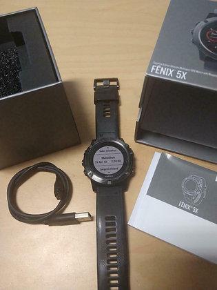 inruil - Garmin Fenix 5x Saffierglas (GPSinruil nr 10301)