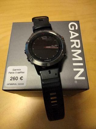 inruil - Garmin Fenix 5 saffier (GPSinruil nr 104103)