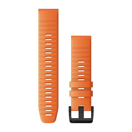 Garmin 22 Quickfit Siliconen Horlogeband Ember Oranje