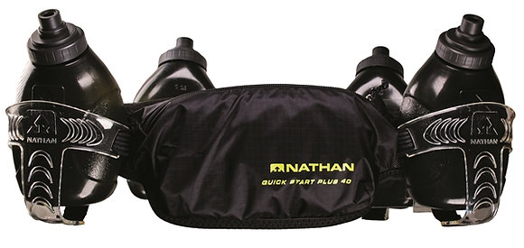 Nathan Drinkgordel QuickStart Plus 40 4x300ml Black