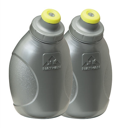 Nathan Push-Pull Cap Flask (2 Pack)
