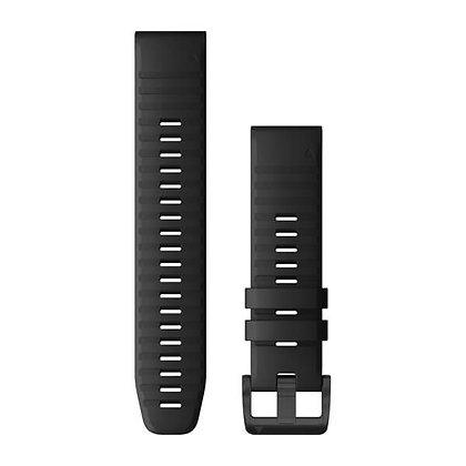 Garmin 22 Quickfit Siliconen Horlogeband Zwart
