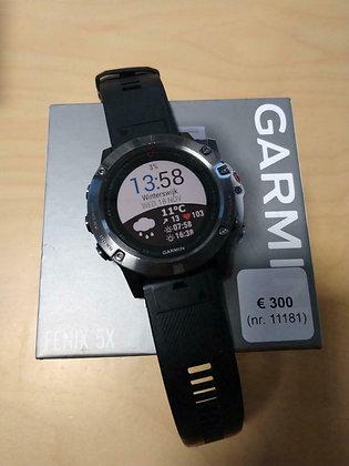 inruil - Garmin Fenix 5 X Saffierglas (GPSinruil nr 11181)