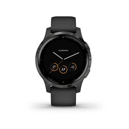 Garmin Vivoactive 4, zwart met slate hardware
