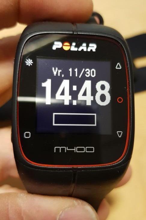inruil - Polar M400 zwart (GPSinruil nr. 21)