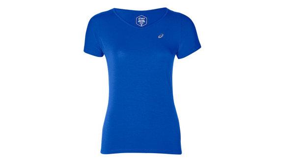 Asics V-Neck Shirt met korte mouwen (Dames)