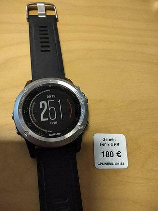 inruil - Garmin Fenix 3 HR (GPSinruil nr 14152)