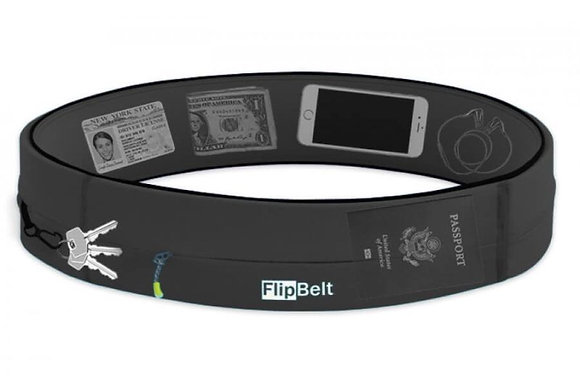 Flipbelt Zipper (Carbon)