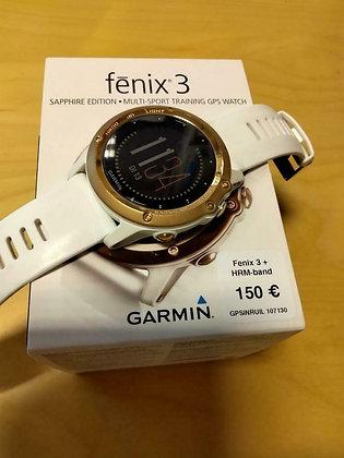 inruil - Garmin Fenix 3 saffier met hrm-band (GPSinruil nr 107130)