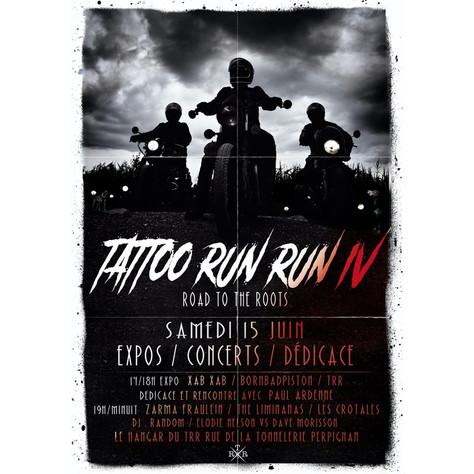 "15/06/2019, Live Zarma Fräulein (Fatcat records) au Tattoo Run Run IV ""Road to the Roots"","