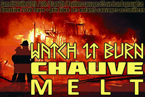 06/07/19 Live, Melt (Fatcat records) - Chez Les Enfants Sauvages, Toulouse (31).