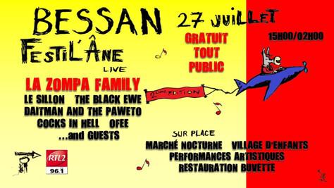 27/07/19 Live Zompa Family (Fatcat records), Festilane, Bessan(34).