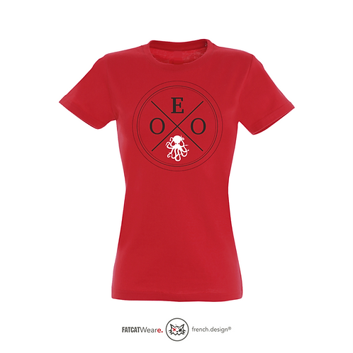 T-shirt EOO GIRL RED