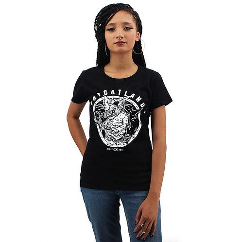 T-shirt FACTORY ROCKCAT GIRL