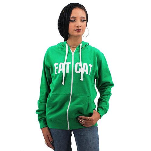 Sweat capuche zip FATCAT AUTHENTIC GWC GIRL