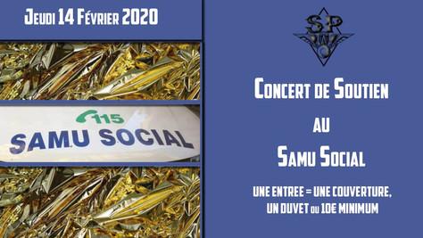 14/02/20 - Live, Darjeeling Opium (Fatcat records) pour le Samu Social, Saint-Jean-De-Védas(34).