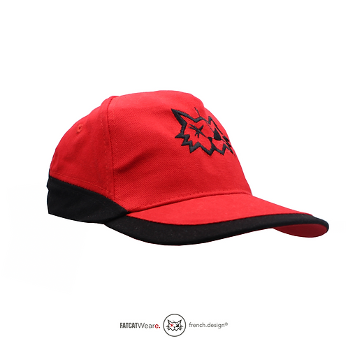 Casquette HYBRID Red_Black