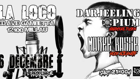06/12/19 - Live, Darjeeling Opium (Fatcat records) à la Loco, Millau(12).