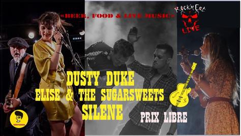 23/10/19 Live Dusty Duke (Fatcat records) au Rock n' Eat, Lyon(69).
