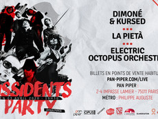 03/04/20 - Live, Electric Octopus Orchestra (Fatcat records), Pan-Piper, Paris(75).