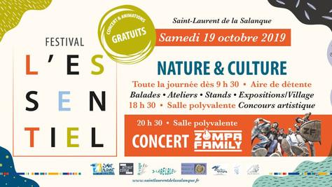 19/10/19 Live Zompa Family (Fatcat records), Festival l'essentiel, Saint-Laurent de la Salanque(