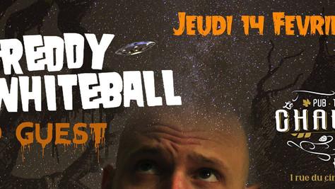 14/02/19 - Live, Freddy Whiteball (Fatcat records) au Chaudron à Bages,(66).