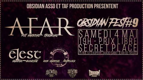 04/05/19 - Live, Darjeeling Opium (Fatcat records) à la Secret place, Saint-Jean-De-Védas(34).