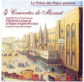 Cordelia Palm violon - 4 Concertos de Mozart - OLRAP