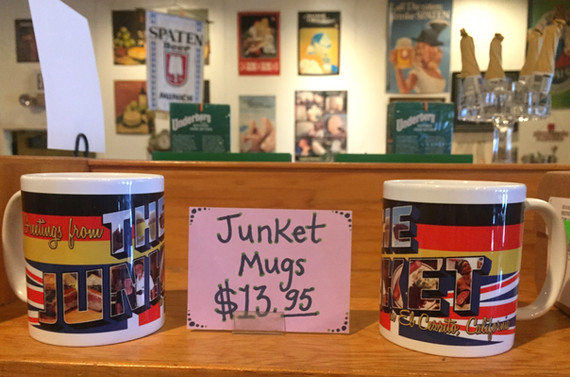 Junket mugs