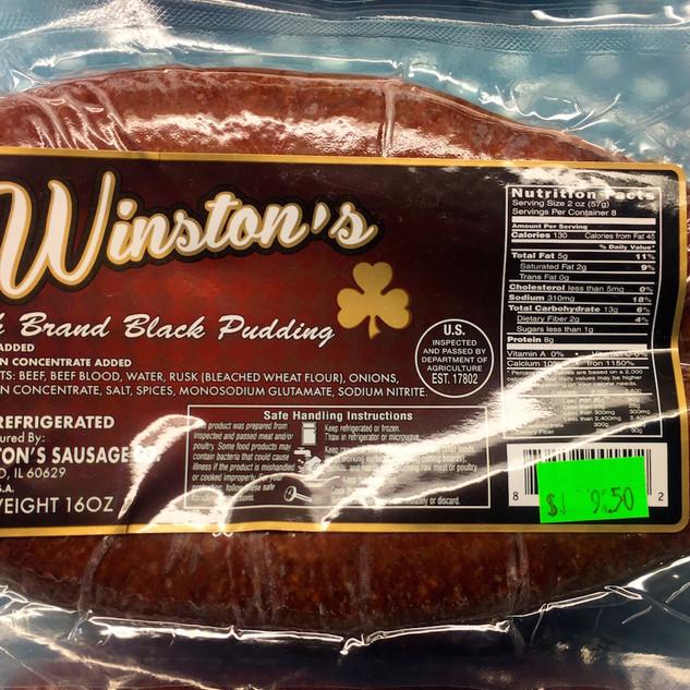 Irish Black Pudding
