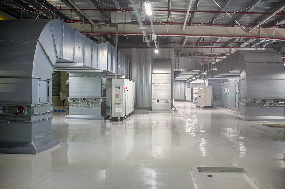 Centrifugal blower ventilation machinery