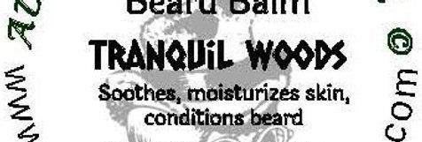 Tranquil Woods beard oil 1 oz $6; 2 oz $10; balm 1 oz $6
