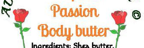 Tropical passion body butter; 2 oz $6 or 4 oz $10 or 8 oz $15