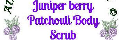Juniper berry patchouli body scrub - 4 oz $5 or 8 oz $8