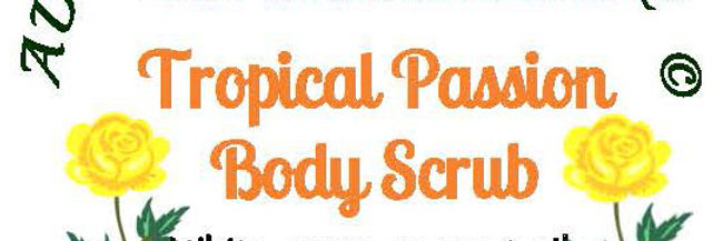 Tropical passion body scrub - 4 oz $5 or 8 oz $8