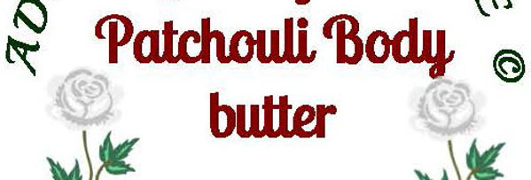 Lemongrass patchouli body butter; 4 oz $8 or 8 oz $15
