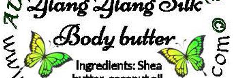 Ylang ylang silk body butter; 4 oz $8 or 8 oz $15
