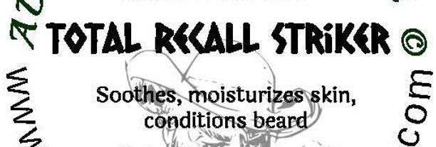 Total Recall Striker beard oil 1 oz $6; 2 oz $10; balm 1 oz $6