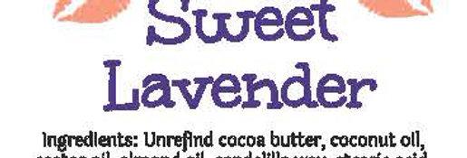 Sweet lavender lip balm