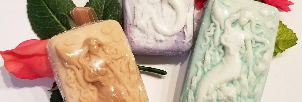 Fragrant Mermaid soap bar