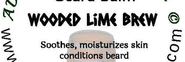 Wooded Lime Brew beard oil 1 oz $6; 2 oz $10; balm 1 oz $6