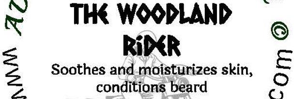 The Woodland Rider beard oil 1 oz $6; 2 oz $10; balm 1 oz $6